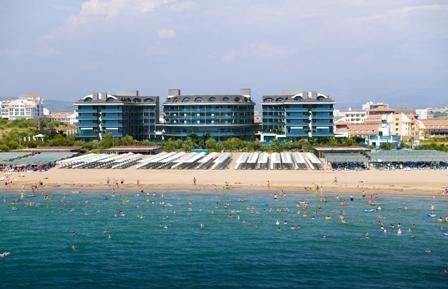 Turkei Side Hotel Direkt Am Strand